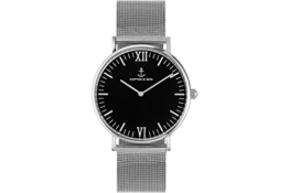 "Damen Uhr ""Campus Black Mesh"" -"